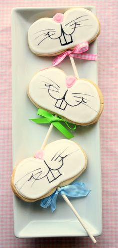 Funny and cute Bunny Cookies