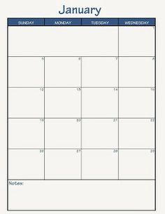 Building my FlyLady Control Journal. Using basic monthly calendar for ...