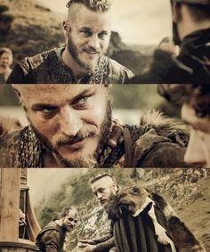 Vikings: Ragnar Dear Lord he's a hottie