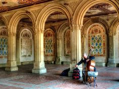 Musician near the Arches by sjaragona on 500px