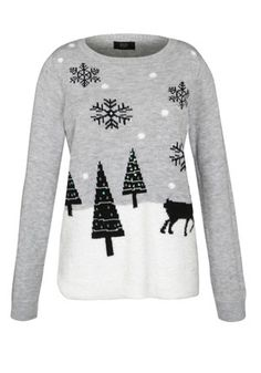 d7235ce7e8 F F Winter Scene Jumper £18 Ladies Christmas Jumpers