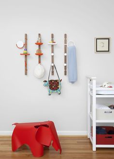 Clip Tree - Wall Mounted Hanging System by Matthew Plumstead // YANKO DESIGN
