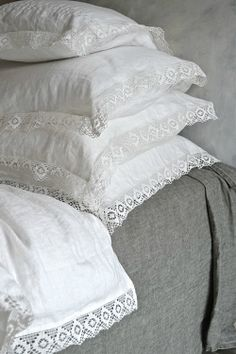 Natural softened linen duvet cover by HouseOfBalticLinen on Etsy