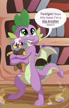 Big Brother Spike by Lopoddity on DeviantArt