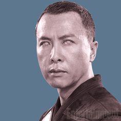 Chirrut Imwe (Donnie Yen) He has the force...