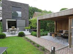 Backyard Patio Designs, Backyard Pergola, Yard Design, Backyard Landscaping, Backyard Kitchen, Outdoor Projects, Garden Projects, Outdoor Living, Outdoor Decor