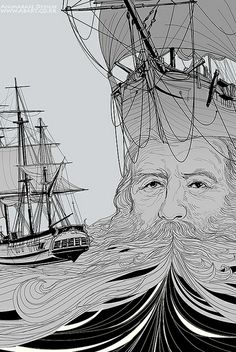 old man and the sea (closeup)   Flickr - Photo Sharing!