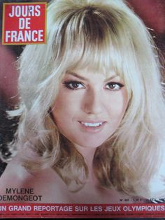 Jours DE France N° 0693 Mylene Demongeot Haute Couture Chanel J O Grenoble 1968 | eBay