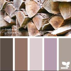 brown purple palette bathroom - Google Search