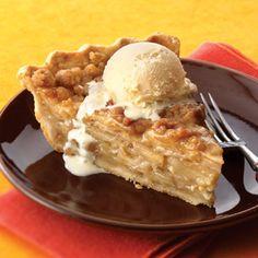 Homemade Apple Pie, just like Applejacks serves in FEATHER IN HER CAP by Melanie Greene