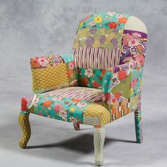 William Francis patchwork chair.