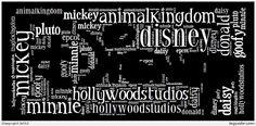 Tagxedo creation. Disney inspiration Tagxedo, Donald Disney, Epcot, Disney Love, Fonts, Inspiration, Designer Fonts, Biblical Inspiration, Types Of Font Styles