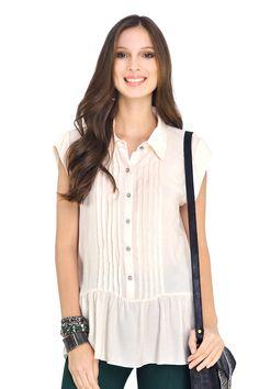 blusa transpasse costas vazada - Blusas | Dress to