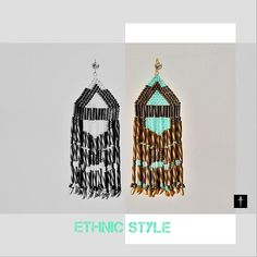 Native American Inspired Dark Bronze and Fringe by BYTWINS on Etsy