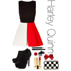 Harley Quinn inspiration outfit