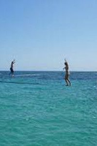 Slackline on Crete Greece