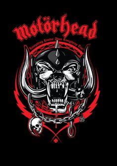 Motorhead Everything Louder Framed Wall Art Arte Heavy Metal, Heavy Metal Music, Metal Band Logos, Metal Bands, Rockband Logos, Hard Rock, Rock And Roll, Rock Band Posters, Heavy Metal Rock