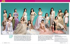 These are the young girls who proud graduates of Goin' Bulilit. Indeed, these young girls are now all grown up and talented Child Actresses, Child Actors, Star Magic, Kathryn Bernardo, All Grown Up, Filipina, May 1, Fashion Models, Abs