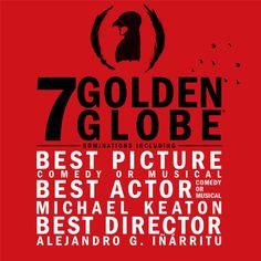 nabbed SEVEN Golden Globes nominations! Congratulations to the whole team! Golden Globe Nominations, Harsh Words, Michael Keaton, Best Director, Golden Globes, Best Actor, Cool Pictures, Congratulations, Comedy