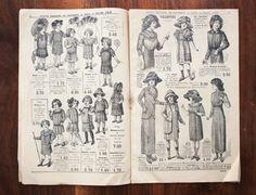 Catalogue de mode français antique de la par LaChineuseFrancaise