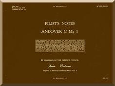 A. V. Roe Avro Andover C Mk. 1 Aircraft Pilot's Notes Manual - Aircraft Reports - Manuals Aircraft Helicopter Engines Propellers Blueprints Publications