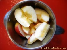 Easiest Apple sauce recipe for cooks using Thermomix super kitchen machine.