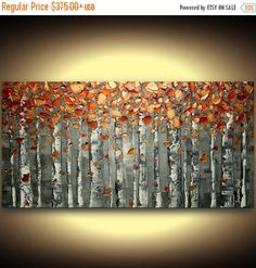 ORIGINAL abstract painting textured art por ModernHouseArt en Etsy