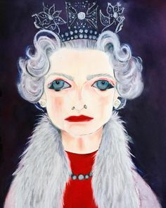 To celebrate the success of his work Equanimity at the National Portrait Gallery. The Constant Monarch, commissioned by the artist Chris Levine @chrislevine_artist #unskilledworker