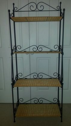 Bakers Rack Style Display / Book Shelf