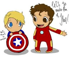 But that is mean... Awww. Baby Cap', I love you <3