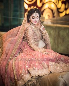 Indian Bridal Photo-Shoot Ideas and Images Pakistani Wedding Outfits, Pakistani Bridal Dresses, Pakistani Wedding Dresses, Bridal Outfits, Bridal Lehenga, Nikkah Dress, Mehndi Dress, Indian Bridal Photos, Bridal Dress Design