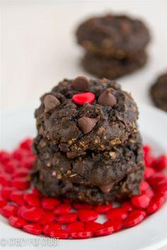 Heart Healthier Chocolate Oatmeal Cookies 1 Of 5