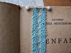 New bookmark by Lila's Lace with free pattern. *p*