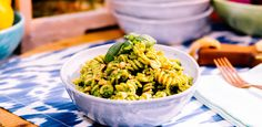 Get Whole Wheat Fusilli with Kale and Walnut Pesto Pasta Recipe from Food Network Healthy Eating Recipes, Vegetarian Recipes, Food Network Recipes, Food Processor Recipes, The Kitchen Food Network, Pesto Pasta Recipes, Walnut Pesto, Kale Pesto, Whole Wheat Pasta