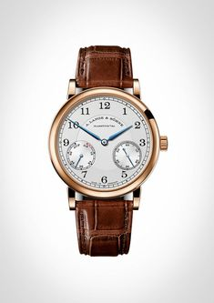 """A. Lange & Söhne made a big splash at SIHH this year with the release of a monster Grand Complication (some would call it a """"Grand, Grand Complication"""" due to not only its level of complexity - 7 complications with an untold number of components, but also a 50mm by 20mm case, and a 1.92 million euro price tag) and a split-seconds perpetual calendar (which we showed you in great detail here) but to me, and probably to you, the most interesting offering from Lange from a consumer ..."""