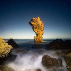 Beautiful rock at sunset not far from the Great Ocean Road Victoria. Love the glow of the rock from the moonlight. #photooftheday #bestoftheday #instadaily #igers #picoftheday #igdaily #visit12apostles #liveinviwrlpctoria #visitwarrnambool #destinationwarrnambool #visitmelbourne #greatoceanroad #jpI knthpe #h #visitgreatoceanroad #exploringaustralia #olhic  #nature #amazing_australia #igsuper_shotz  #sunset #stars @australia by mrperrycho