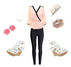 """""""Untitled #37"""" by tori-hansford on Polyvore featuring H&M, GUESS, Aéropostale, Sydney Evan, Dollydagger and RED Valentino"""