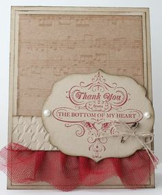 crumb and cobbler tulle! card by Heather Summers