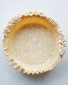 A good pie crust.