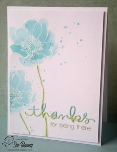 Sue's Card Craft: AAA Cards, CAS Watercolour, HLS Watercolour, Inkspirational, STAMPlorations CAS