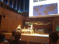 London Activate 2012 The Guardian Matt Mullenweg, founding developer Wordpress.com #thesocialbureau