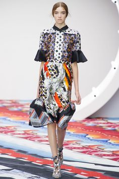 Peter Pilotto Spring 2013 Ready-to-Wear Fashion Show - Grace Hartzel
