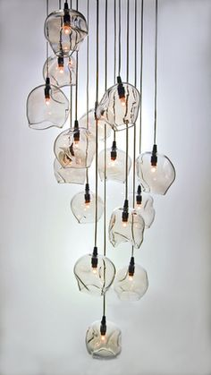 John Pomp's Infinity Cluster chandelier greets guests at Seattle Design Center's Trammell Gagne Showroom.