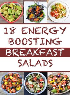 18 Energy-Boosting Breakfast Salads