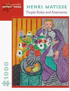 Henri Matisse: Purple Robe and Anemones 1,000-piece Jigsaw Puzzle