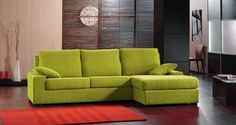 Sofá con Chaise Longue #sofas #decoracion