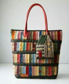 Best 12 Items similar to Boho Chic, One of a kind, Handmade, Fiona – SkillOfKing. Quilted Tote Bags, Cute Tote Bags, Patchwork Bags, Fabric Purses, Fabric Bags, Bag Quilt, Linen Bag, Denim Bag, Purse Patterns