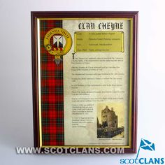 Clan Cheyne History