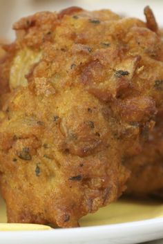 This oven baked onion bhaji is a healthy alternative to the traditional fried onion bhajis...