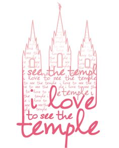 i love to see the temple.